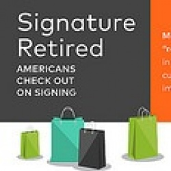 Thumbnail-Photo: Mastercard retires customer signatures
