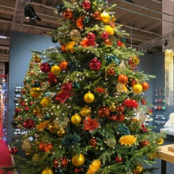 Thumbnail-Photo: Colorful shop windows: Christmas decorating tips, part 1...