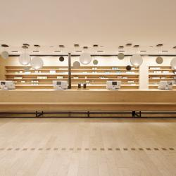 Thumbnail-Photo: What shop design can look like: The Schubert pharmacy in Pullach on the...