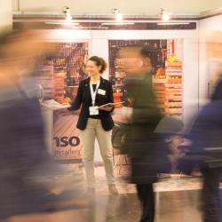 Thumbnail-Photo: In touch: iXtenso - Magazine for Retailers at EuroCIS 2019...