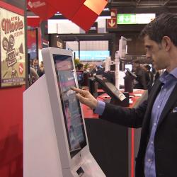 Thumbnail-Photo: Posiflex: interactive self-service kiosk systems for the POS...