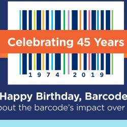 Thumbnail-Photo: 45th anniversary of the barcode in retail