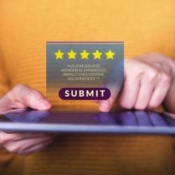 Thumbnail-Photo: 91% of SMBs think customer reviews are critical...