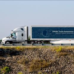 Thumbnail-Photo: Daimler Trucks: automated trucks