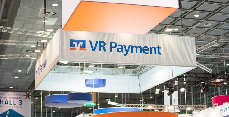 Booth of VR-Payment at the EuroShop 2020