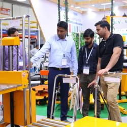 Thumbnail-Photo: 10th anniversary of India Warehousing Show