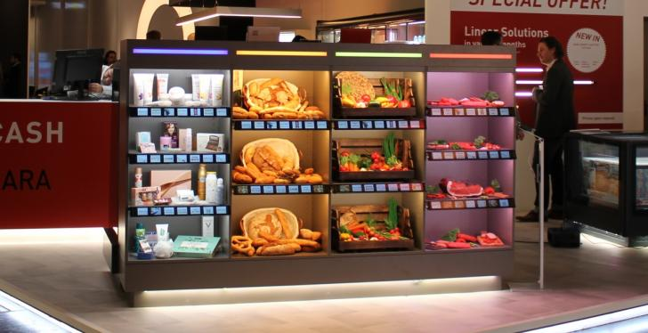 Invisible lighting solutions for fresh products in retail...