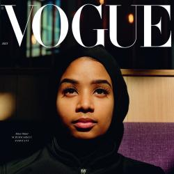 Thumbnail-Photo: Cashier as british Vogue cover star