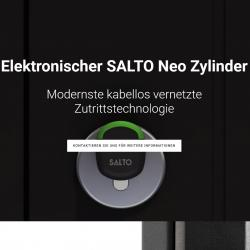 Thumbnail-Photo: New SALTO Neo Cylinder Microsite