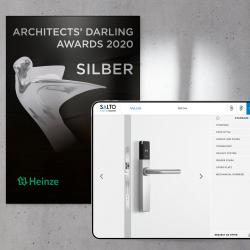 Thumbnail-Photo: ARCHITECTS DARLING AWARD for MyLock online configurator from SALTO...