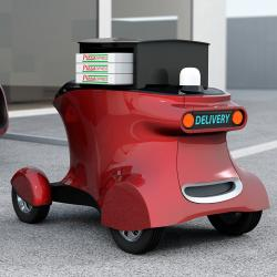 Thumbnail-Photo: Autonomous delivery vehicles