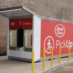 Thumbnail-Photo: Automated grocery PickUp kiosk for contactless grocery service...