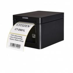 Thumbnail-Photo: The Citizen CT-E651L :  two-in-one label and receipt printing...