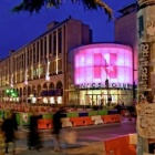 Thumbnail-Photo: Facades and windows turn into luminous advertising spaces...