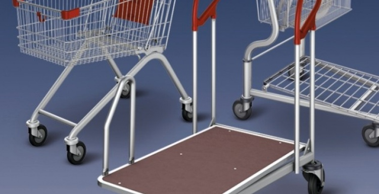 Photo: Shopping cart: There is still room for a new competitor...