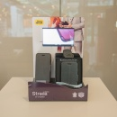 STRADAs counter display uses a small screen similar to a smartphone....