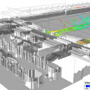 Analysis of air flows in the retail area of the station Tiburtina in Rome....