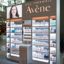 Shop in shop system for Avène by Pierre Fabre Dermo-Cosmetics This shelving...