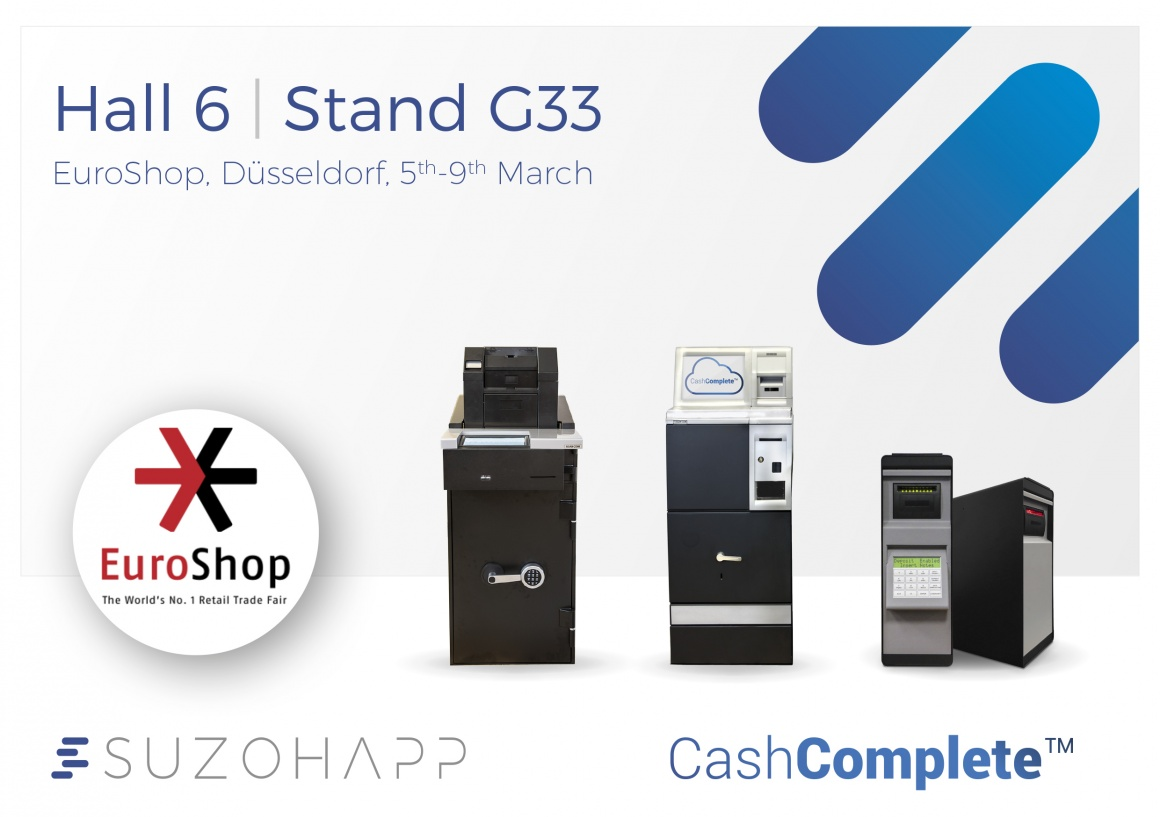 Photo: SCAN COIN and SUZOHAPP revolutionize cash handling at EuroShop 2017...