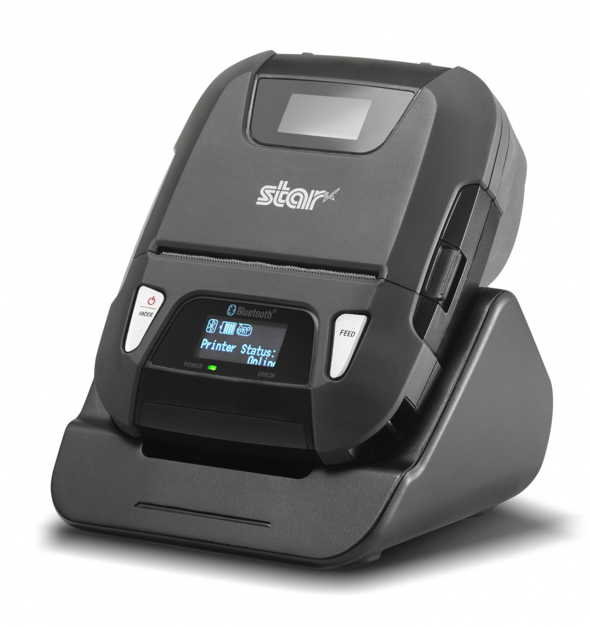 connected mobile receipt and label printer