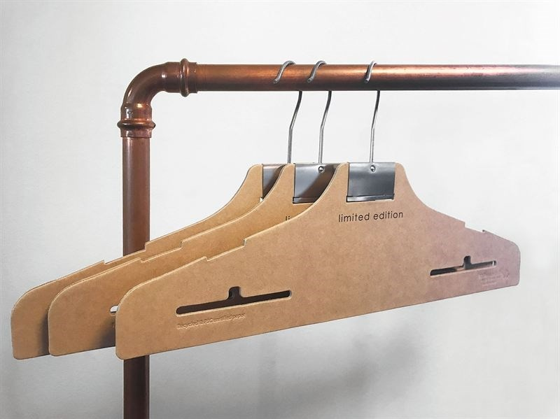 hangers using recycled paper