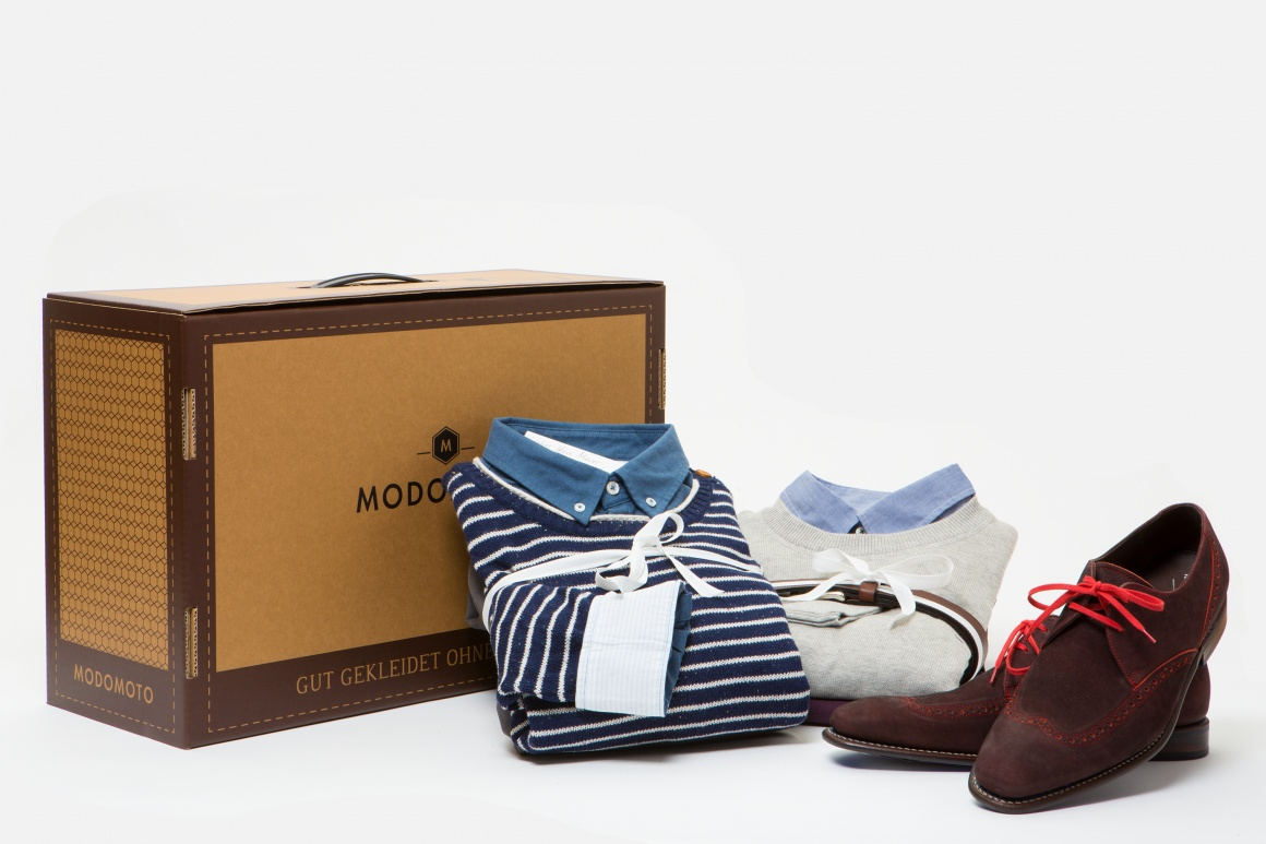 Modomoto fashion experts put together tailored outfits for their customers. The...
