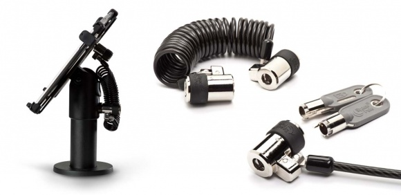 Photo: Ergonomic Solutions presents ClickSafe security locking cables...