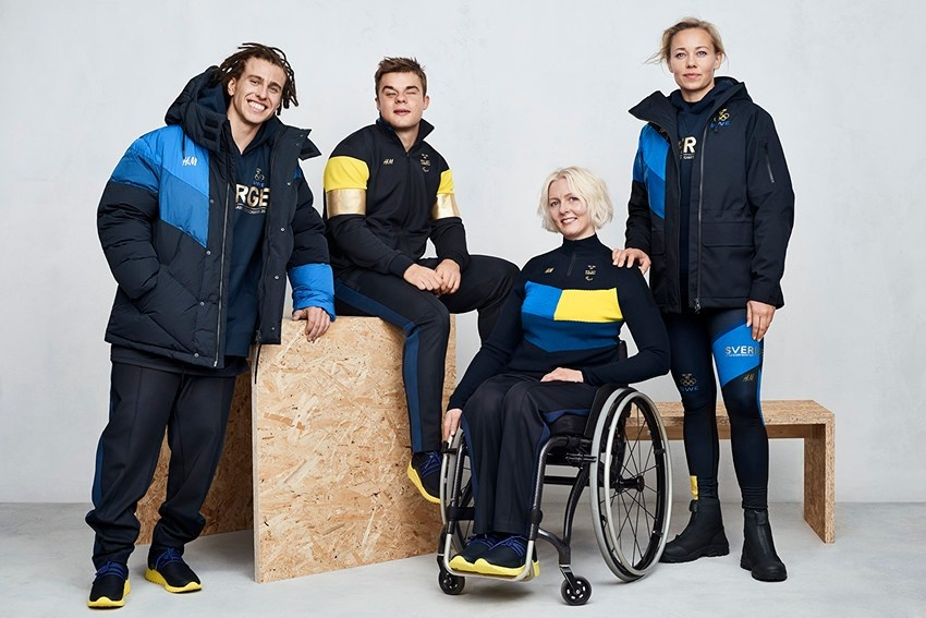 Photo: H&M to provide outfits for Swedish teams