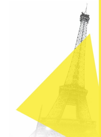 Graphic of the Eiffel Tower in Paris; copyright: Screenshot of the website...