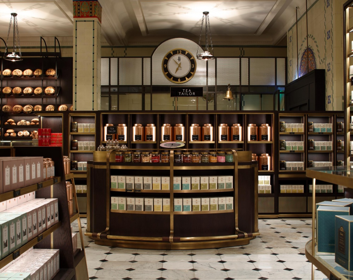 Photo: What shop design can look like: Harrods in London...