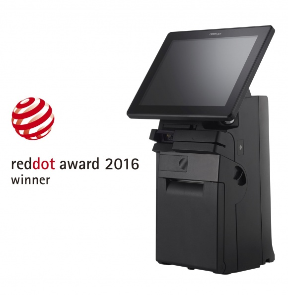 With HS-3510W, Posiflex wins a third Red Dot Award in consecutive years....