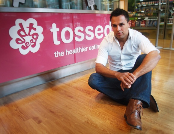 Vincent McKevitt, Founder of Tossed said: This unique point-of-sale solution...