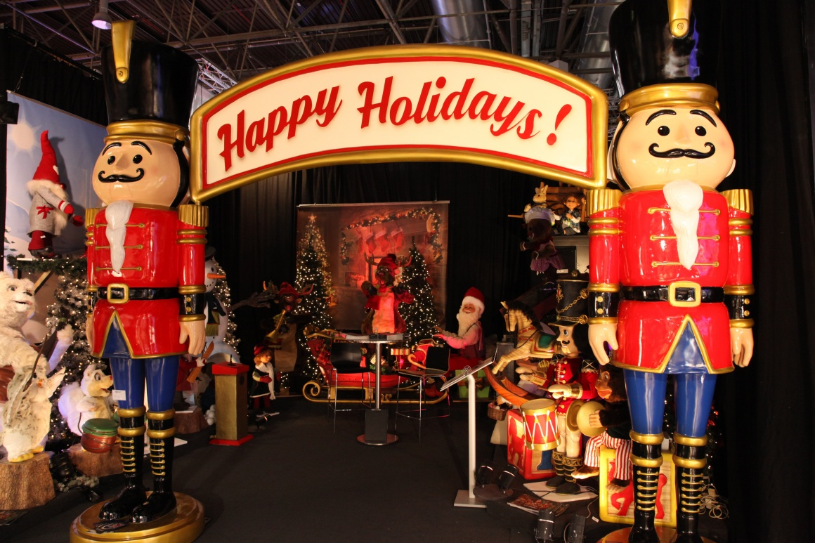 Nutcracker and other festive figures