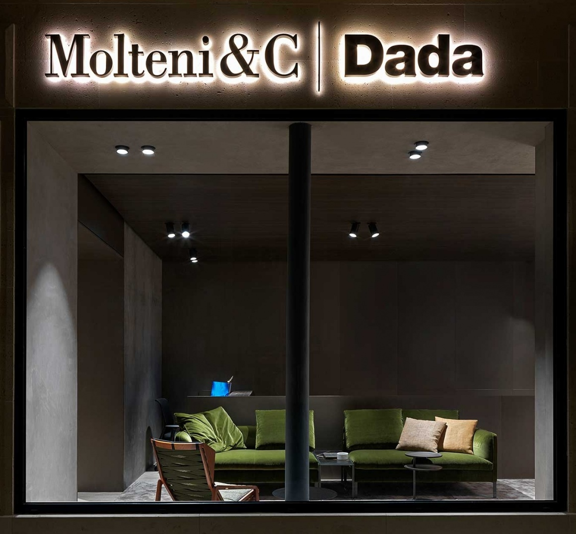 A high class furniture store with modern design